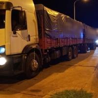Interceptan a cuatro camiones con soja que no pasaron por el puesto fiscal