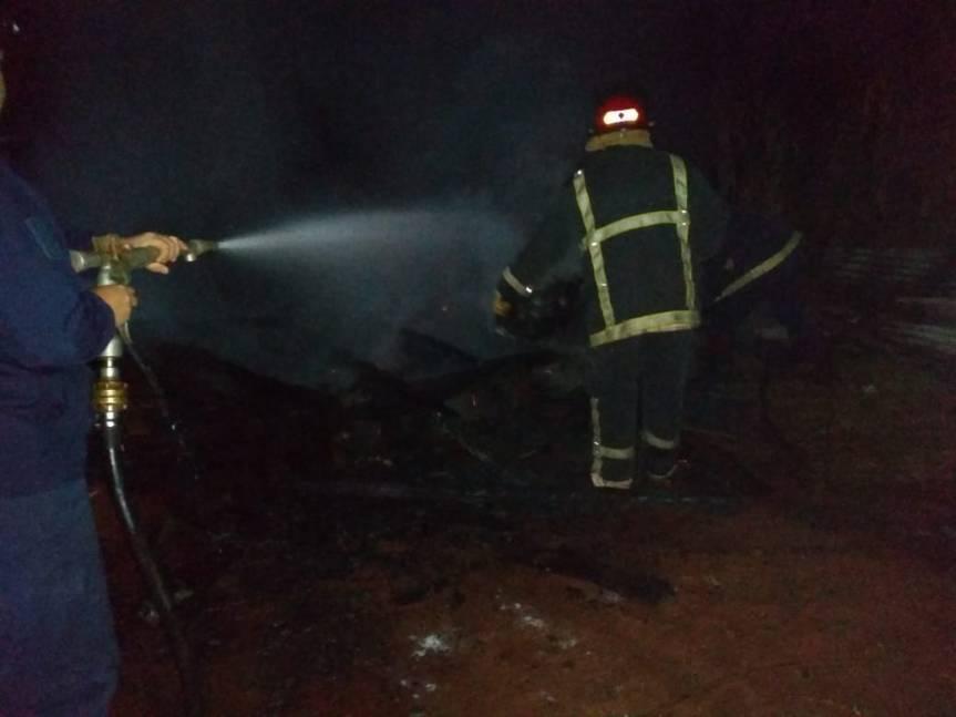El fuego consumió una vivienda en CampoRamón