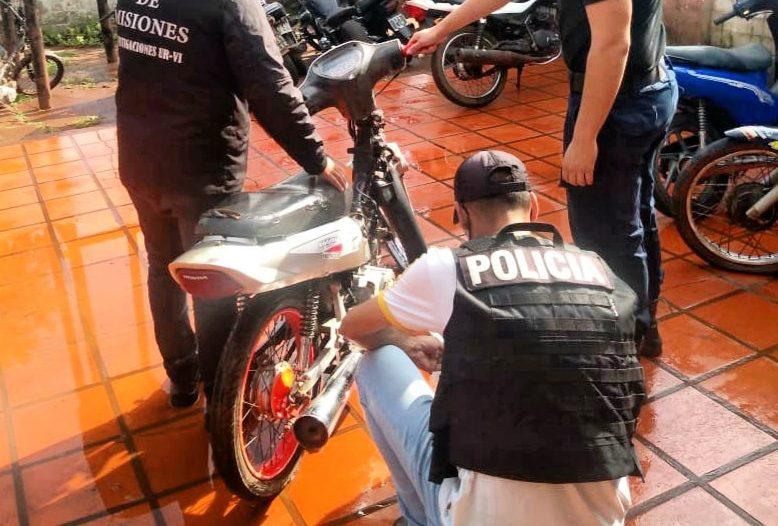 Recuperaron dos motos robadas en menos de 24horas