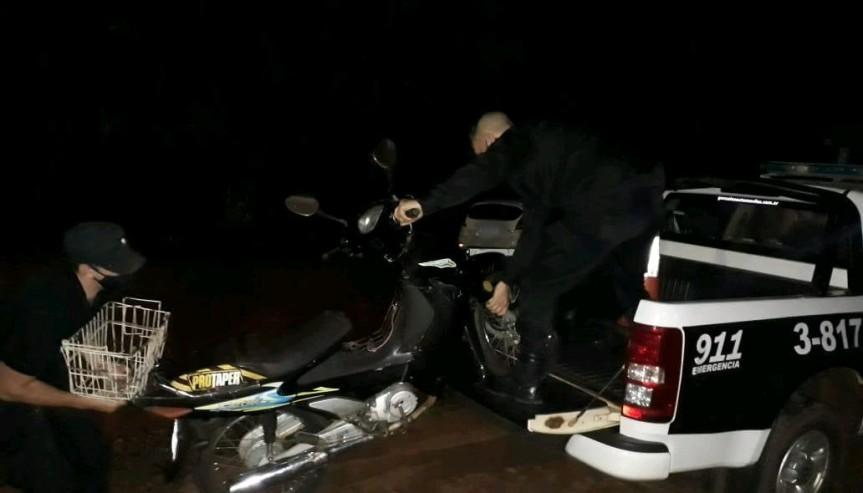 Robó una moto y lo atraparon a pocascuadras