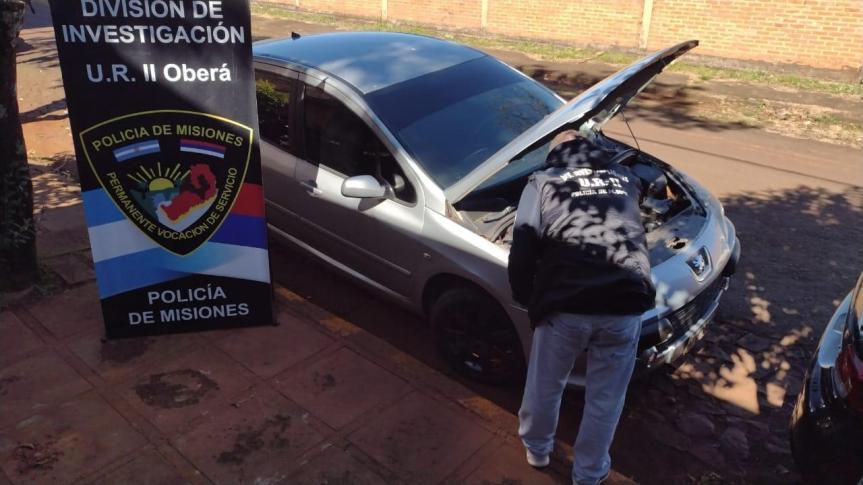 Recuperaron en Oberá un auto robado hace cinco años enPosadas