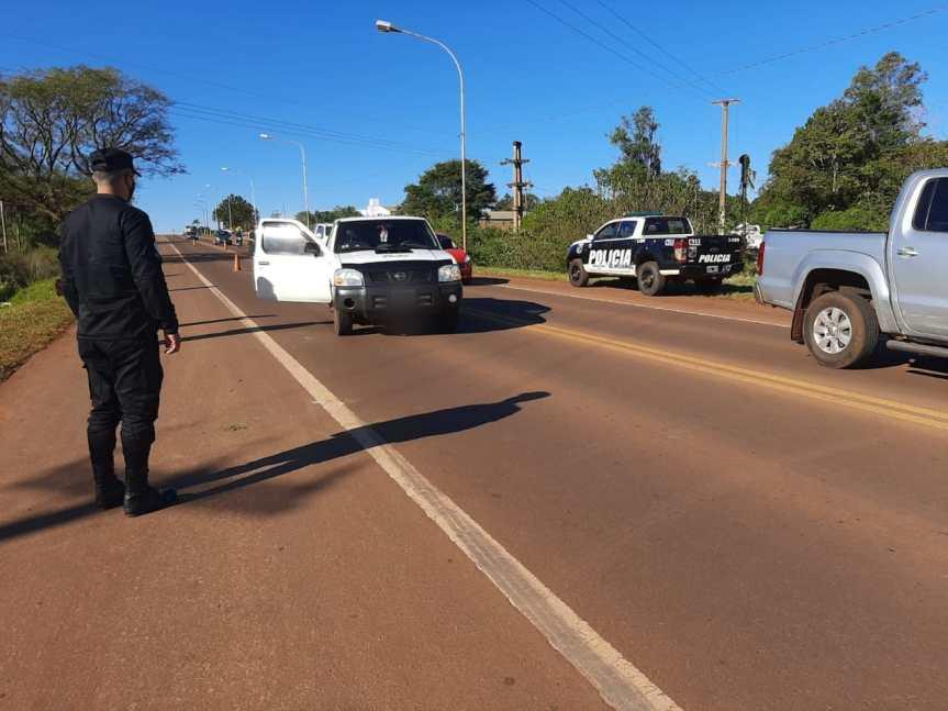 Peatón fue embestido por una camioneta en la ruta14