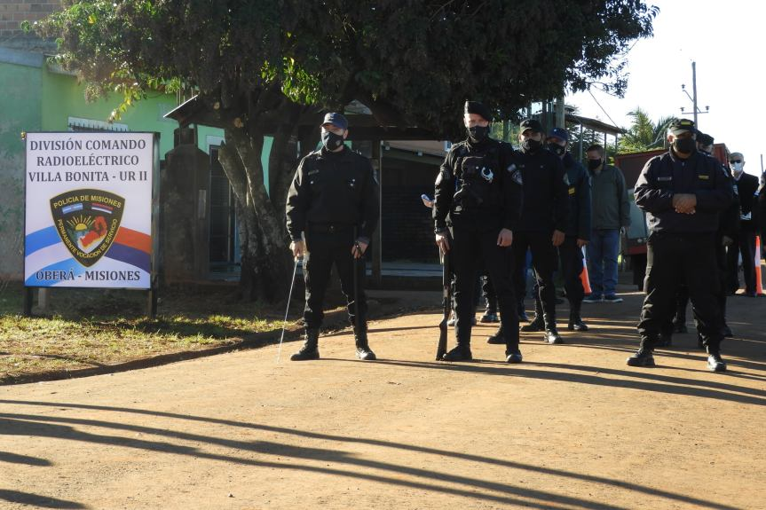 Inauguraron el Comando Radioeléctrico de VillaBonita