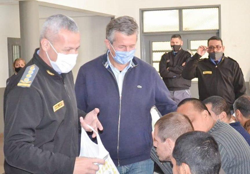 Pigerl recorrió la nueva Unidad de Salud para Inimputables de la provincia con capacidad para 100internos