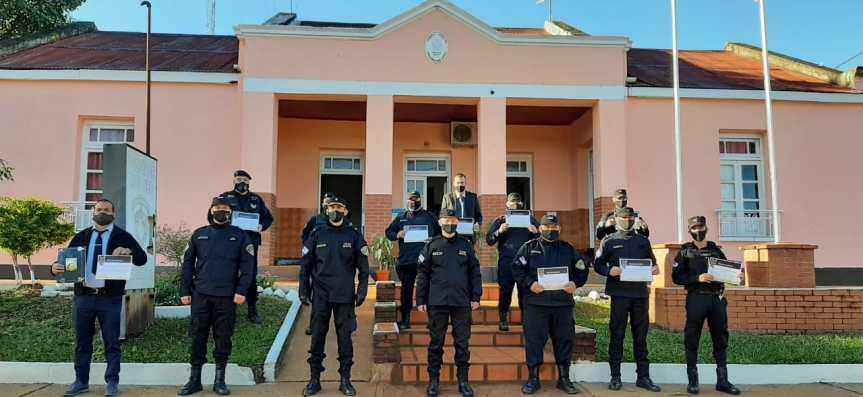 Reconocieron a efectivos Policiales en San Javier yBonpland