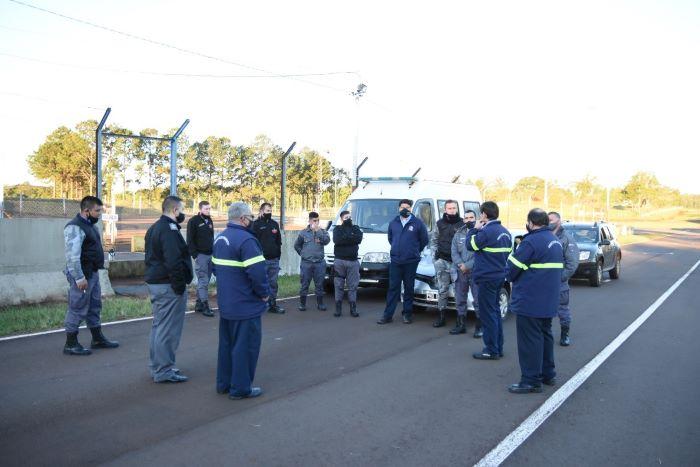 Inspectores capacitaron a personal del Servicio PenitenciarioProvincial