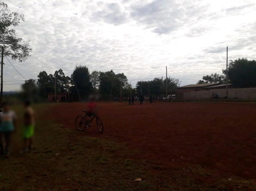 Policías suspendieron un torneo de fútbol por violar elprotocolo