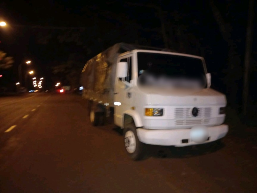 Camionero borracho atropelló un control policial para no serdetenido