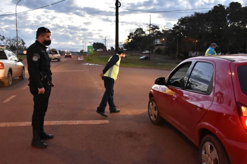 Realizaron operativos de tránsito por el Día de la Seguridad Vial en los accesos a laciudad
