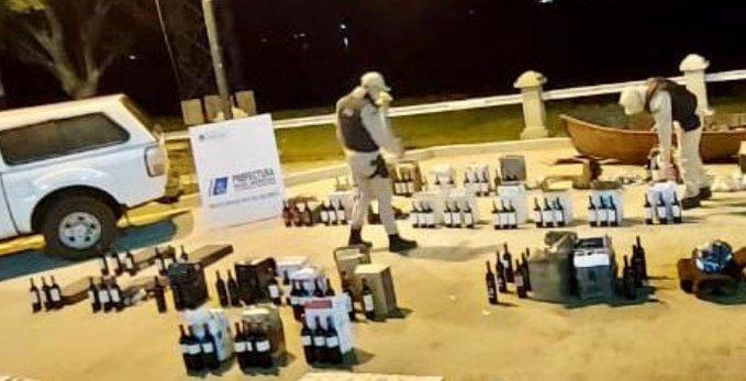 Incautaron un cargamento de vino valuado en casi tres millones depesos