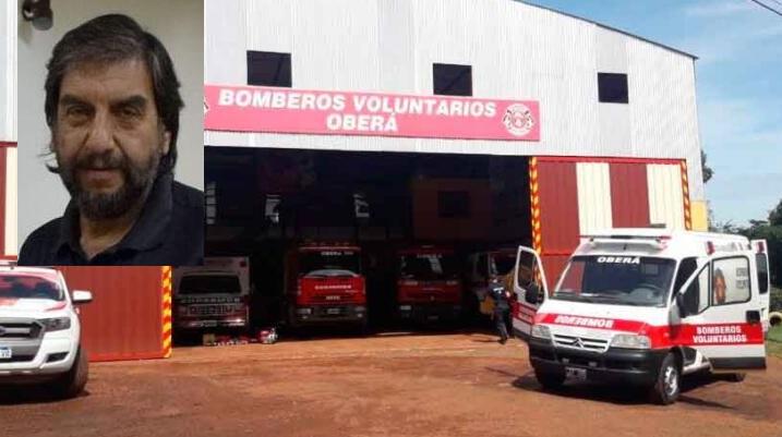 """Aporte a los bomberos: """"los delegados sólo deben tratar sobre los servicios que presta la CELO"""", dijoMattos"""