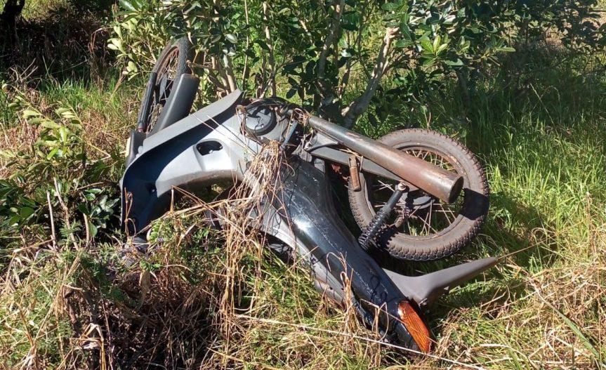 Hallaron una moto robada días atrás enGuaraní