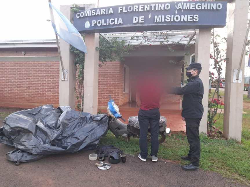 Secuestraron objetos robados de una olería de FlorentinoAmeghino
