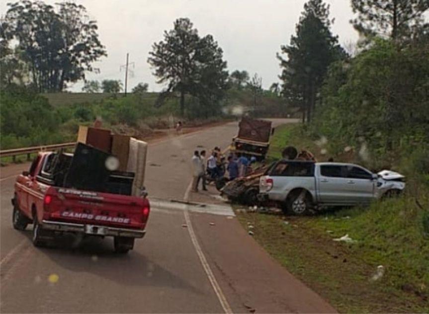 Siguen buscando al otro conductor del choque fatal en la Ruta13