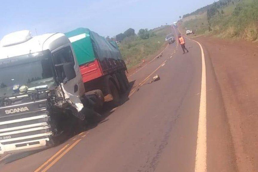 Dos muertos tras un choque frontal sobre la ruta14