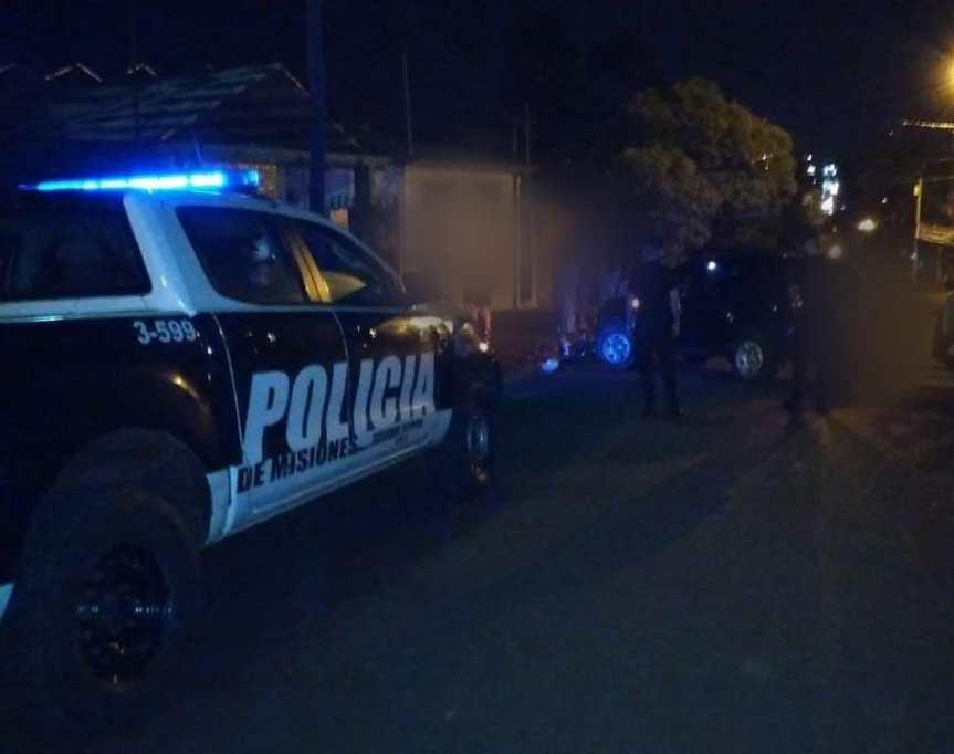 Choque en calle Tierra del Fuego dejó un motociclistaherido