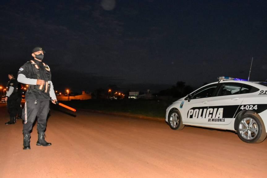 Detuvieron a un automovilista alcoholizado que despistó en SanJavier