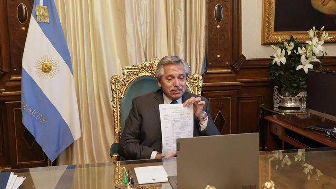 """Alberto Fernández: """"Voy a ordenar el gabinete y terminar con estadiscusión"""""""