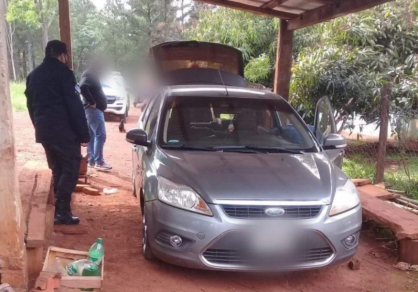 Incautaron un automóvil involucrado en varios robos enOberá