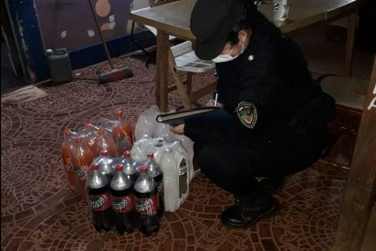 Le robaron 3 pack de gaseosas a un vecino en VillaCristen