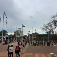 Manifestantes protestan en el centro obereño y cortan la ruta 14 en Campo Viera