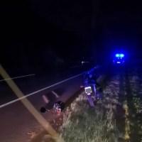 Choque metros del Berrondo dejó un motociclista muerto