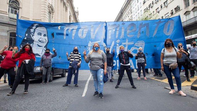 """El Movimiento Evita convocó a la militancia para apoyar a Alberto: """"A bancar algobierno"""""""