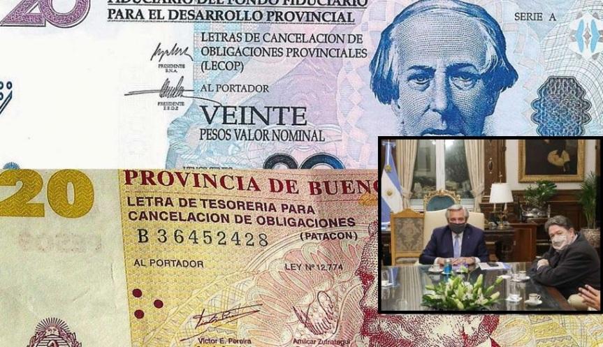 El director del Banco Nación propuso emitir una cuasimoneda como Lecop o Patacones para financiar lacrisis