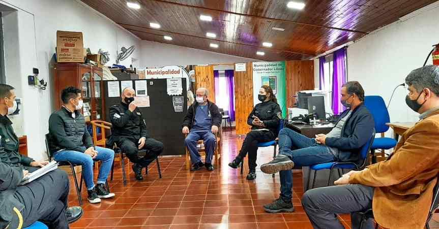 Intendentes se reunieron con la policía Comunitaria para abordar temas deseguridad