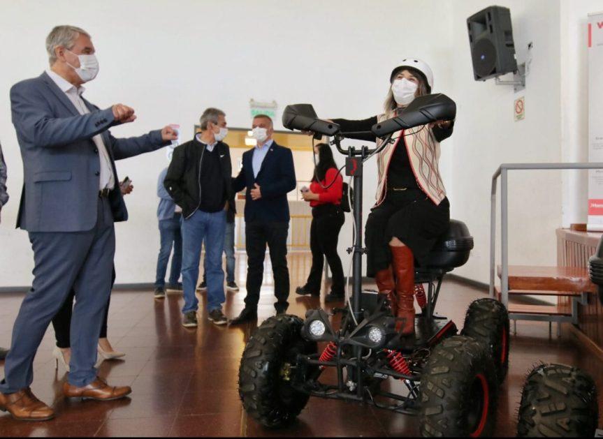 """Presentaron el """"Wake"""", un cuatriciclo eléctrico recreativo que será fabricado por elestado"""