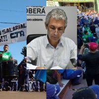 """La municipalidad hizo la denuncia penal por la huelga: """"Necesitamos brindar los servicios básicos"""", dijo Fernández"""
