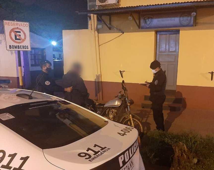 Recuperaron una motocicleta robada que había sido robada en avenidaSarmiento