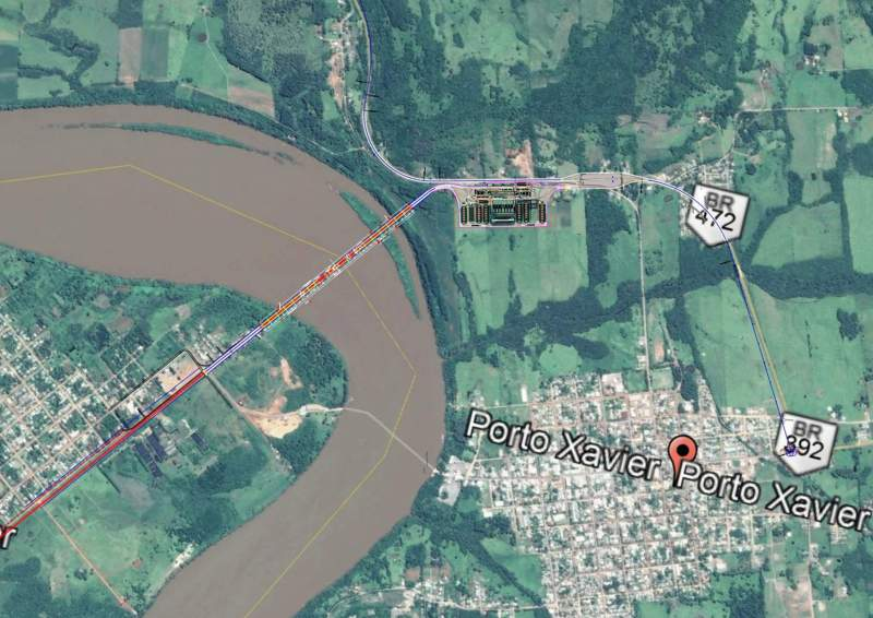 Licitarán en diciembre la obra del puente San Javier-Porto Xavier por 86 millones dedólares