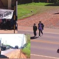 """Sin inspectores por el paro de municipales: alumnos no pueden cruzar la ruta 14 para ir a la escuela 395: """"pedimos que venga la policía"""""""