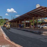 Avanzan las obras de la nueva dársena para colectivos urbanos en la terminal